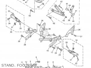 Yamaha YZF-R6 2002 5MTB BELGIUM 1A5MT-300E3 parts lists