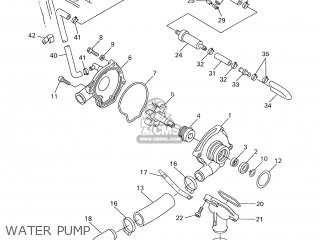 Yamaha YZF-R6 2002 5MTB ENGLAND 1A5MT-300E3 parts lists