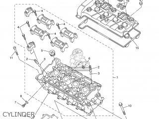 Yamaha YZF-R6 2003 5SL1 GREECE 1B5SL-300E4 parts lists and