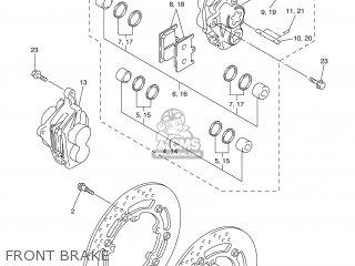 Yamaha YZF-R6 2003 5SL2 FRANCE 1B5SL-351F4 parts lists and