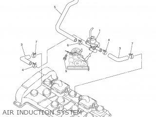 Yamaha YZF-R6 2004 5SLC FRANCE 1C5SL-351F3 parts lists and