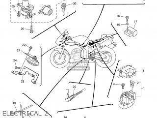 Yamaha Yzf-r6 2005 5slm South Africa 1d5sl-300e1 parts