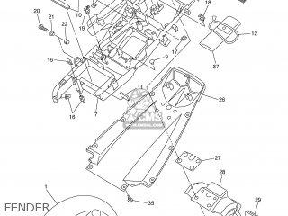 Yamaha Yzf-r6 2005 5slm Spain 1d5sl-352s1 parts list