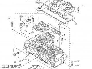 Yamaha YZF-R6 2006 2C01 SPAIN 1E2C0-352S1 parts lists and