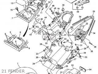 Yamaha YZF-R6 2009 13SB EUROPE 1H13S-300E1 parts lists and
