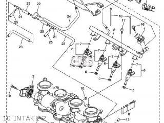 Yamaha YZF-R6 2013 1JSU EUROPE 1M1JS-300E1 parts lists and