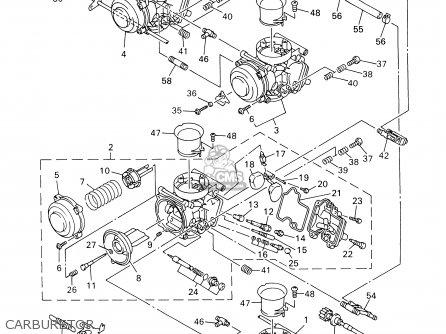 Yamaha Yzf-r6m/mc 2000 parts list partsmanual partsfiche