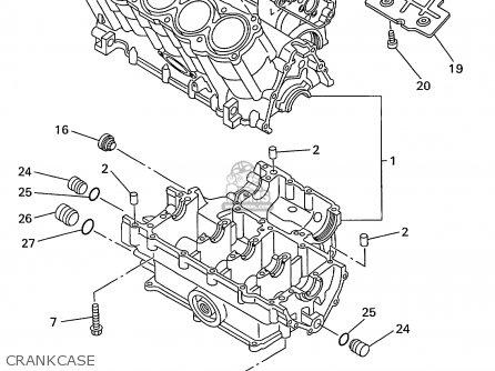 Yamaha Yzf1000r Yzf1000rc 1998 (w) Usa California parts