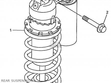 Yamaha Yzf1000rk/rkc 1998 parts list partsmanual partsfiche
