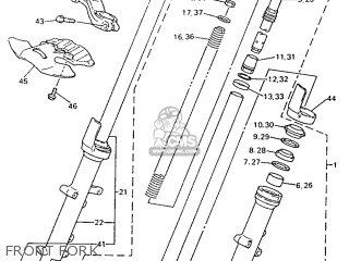 Yamaha YZF600R 1996 4TV1 GERMANY 264TV-332G2 parts lists