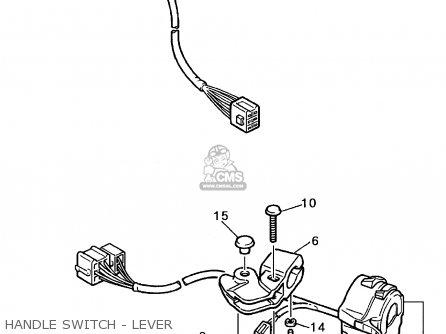 Yamaha Yzf600r 1996 (t) Usa parts list partsmanual partsfiche