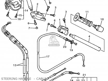 Yamaha YZF600R 1996 (T) USA parts lists and schematics