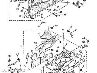 Yamaha Yzf600r 1998 4tv5 Denmark 284tv-300e1 parts list
