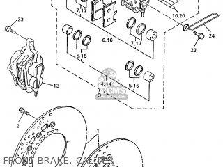 Yamaha Yzf600r 1998 4tv5 England 284tv-300e1 parts list