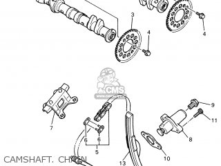 Yamaha YZF600R 2000 4WD5 FRANCE 104TV-351F1 parts lists