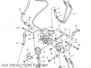 Yamaha Yzf600r 2000 4we5 Austria 104tv-300e1 parts list