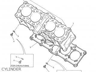 Yamaha YZF600R 2001 4TVB ENGLAND 114TV-300E1 parts lists