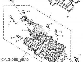 Yamaha YZF600R 2001 4TVB HOLLAND 114TV-300E1 parts lists