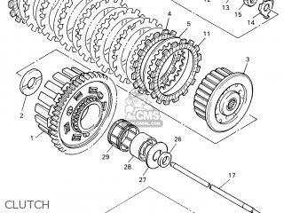 Yamaha Yzf600r 2001 4wd6 France 114tv-351f1 parts list
