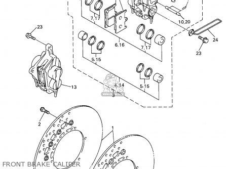 Yamaha YZF600R YZF600RC 1998 (W) USA CALIFORNIA parts