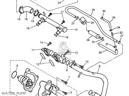 Yamaha Yzf600r Yzf600rc 1998 (w) Usa California parts list