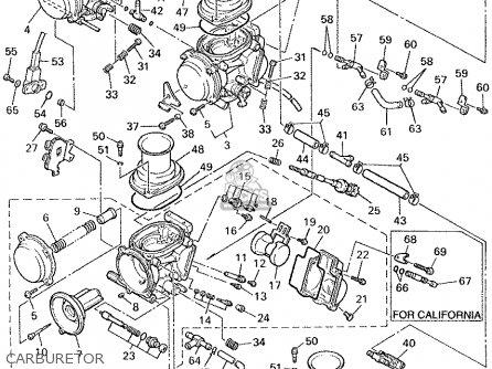 Yamaha YZF600R YZF600RC 2002 (2) USA CALIFORNIA parts