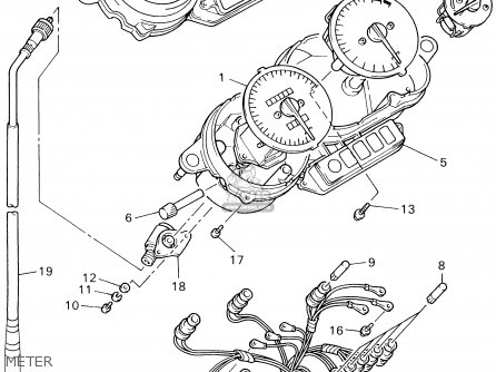 Yamaha Yzf600r Yzf600rc 2002 (2) Usa California parts list