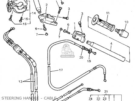 Yamaha YZF600RC 1995 (S) CALIFORNIA parts lists and schematics