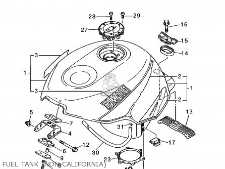 1997 Yamaha Yzf600r Wiring Diagram. Harness. Auto Wiring