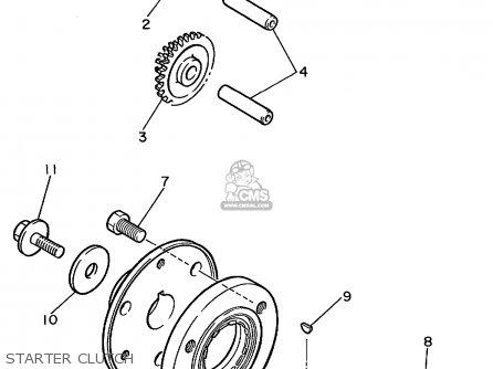 Yamaha Yzf600rl/rlc 1999 parts list partsmanual partsfiche