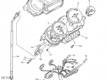 Yamaha Yzf600rm/rmc 2000 parts list partsmanual partsfiche