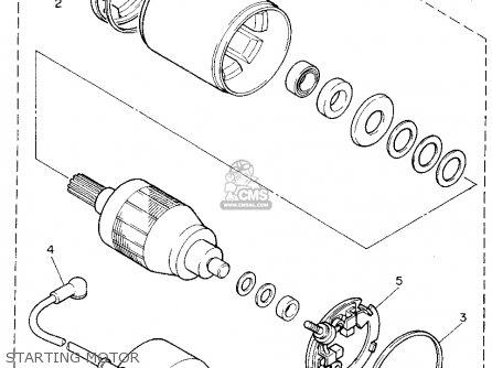 Yamaha Yzf750r 1994 (r) Usa parts list partsmanual partsfiche