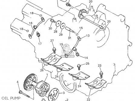 Yamaha Yzf750r 1996 (t) Usa parts list partsmanual partsfiche