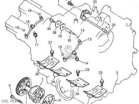 Yamaha Yzf750rc 1994 (r) California parts list partsmanual