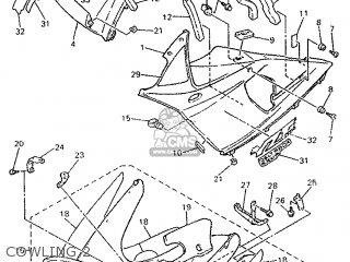 Yamaha YZF750SP 1993 4HT1 GERMANY 234HT-332G1 parts lists