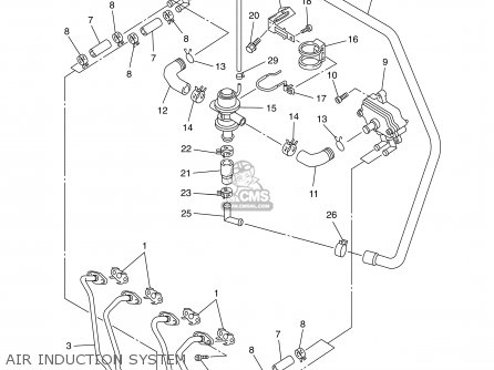 Yamaha YZFR6 YZFR6C 2002 (2) USA CALIFORNIA parts lists