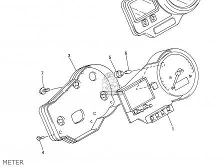 Yamaha Yzfr6 Yzfr6c 2002 (2) Usa California parts list