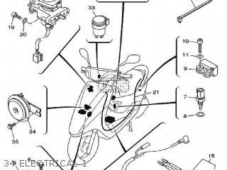 Yamaha Xc125e 2010 4p76 Europe Vity 1j4p7-300e1 parts list