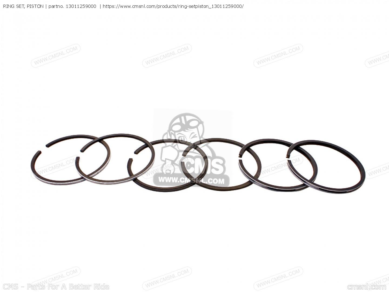 504 305 Ring Set Piston Honda