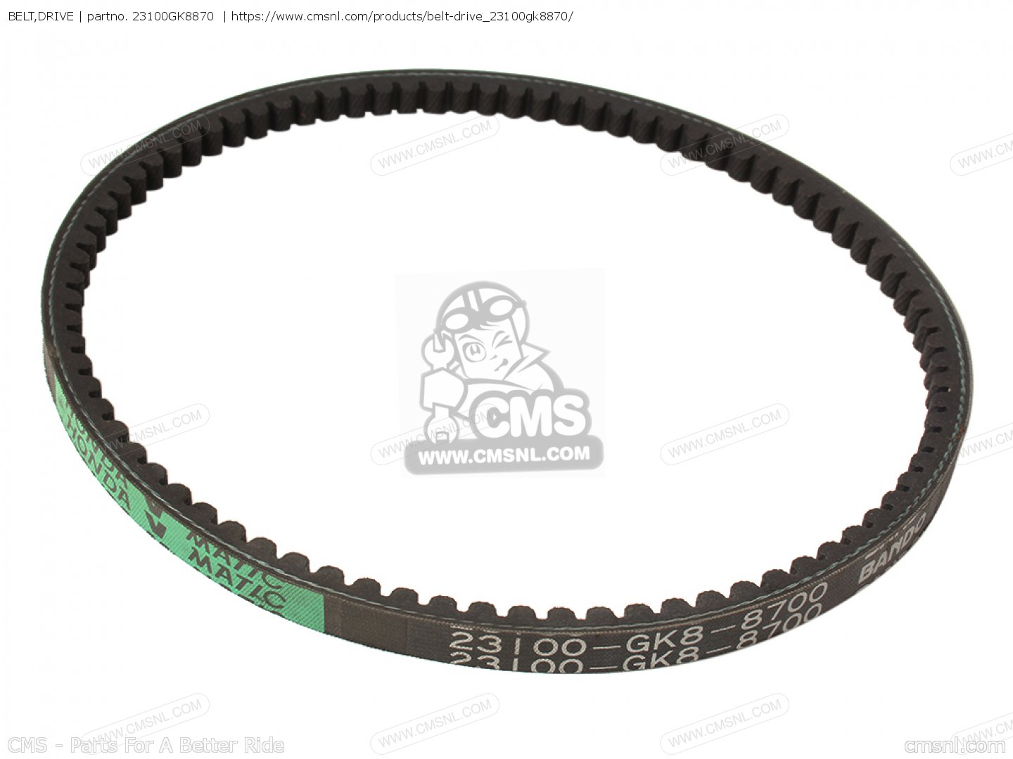Belt Drive For Sb50 Es Elite E J Usa