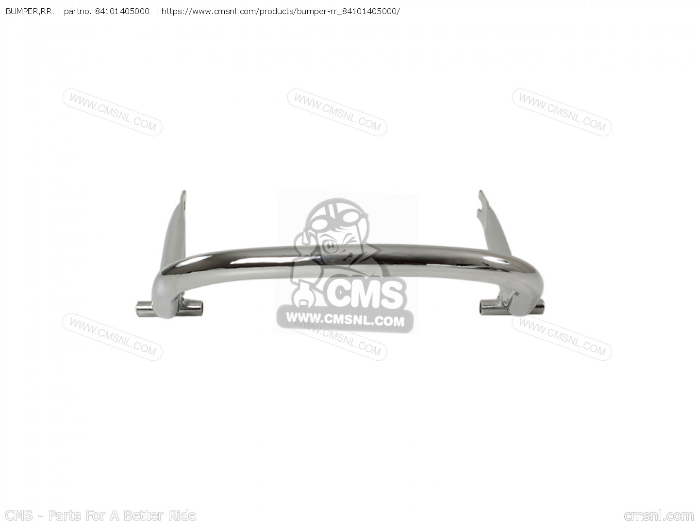 Bumper Rr Cb750k7 Four European Direct Sales