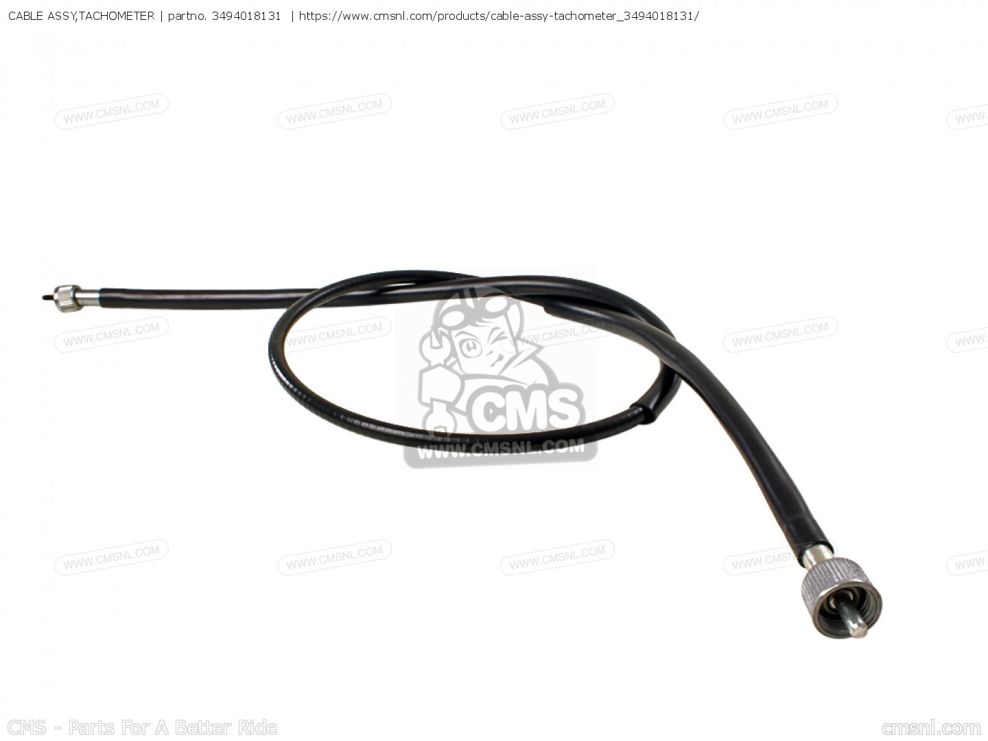 Cable Assy Tachometer For Gt750 J Usa E03