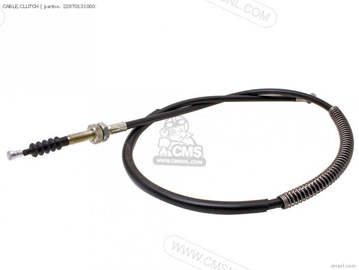 Honda Mr50 Elsinore 1974 K0 Usa Handlebar / Cables