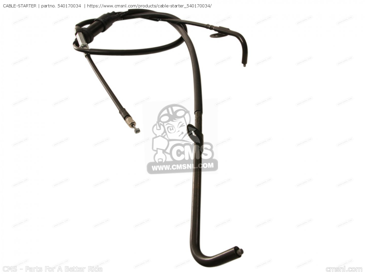 CABLE-STARTER for KVF650-FCS BRUTE FORCE 650 4X4I 2012 USA
