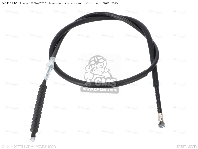 Cable,clutch. Tlr200 Reflex 1986 (g) Usa 22870KJ2000
