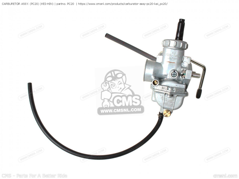 Carburetor Assy Pc20 Kei Hin Rising Sun Tuning Parts