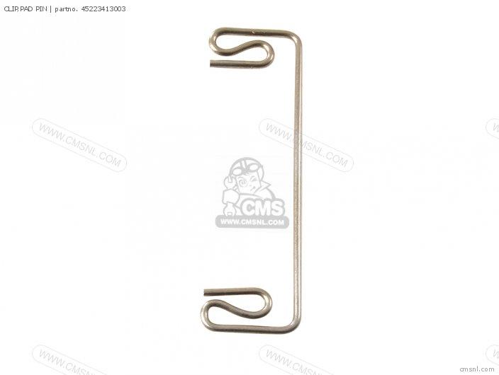 Clip,pad Pin Cb400a Hawk Hondamatic 1978 Usa 45223413003