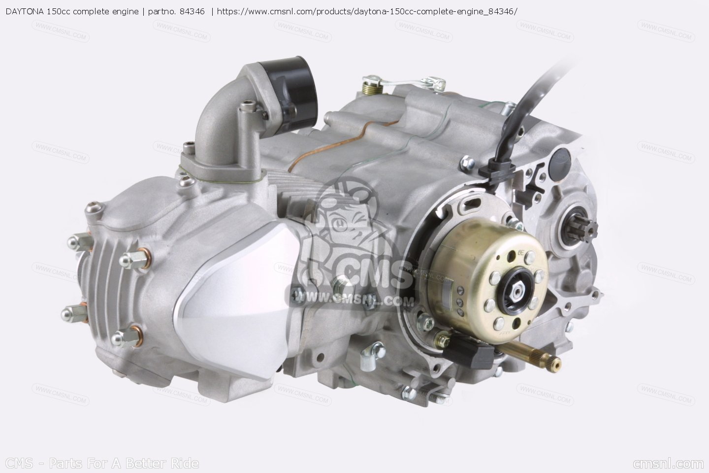 Daytona 150cc Complete Engine Daytona