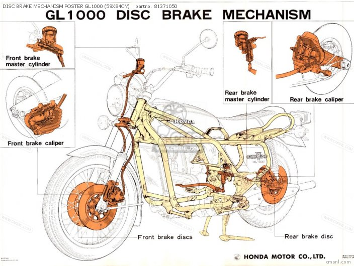 disc brake mechanism poster gl1000 59x84cm_medium81371050 01_78f5?resize=446%2C334 1974 cb360 wiring diagram cb550 wiring diagram, cb50 wiring 1974 cb360 wiring diagram at aneh.co
