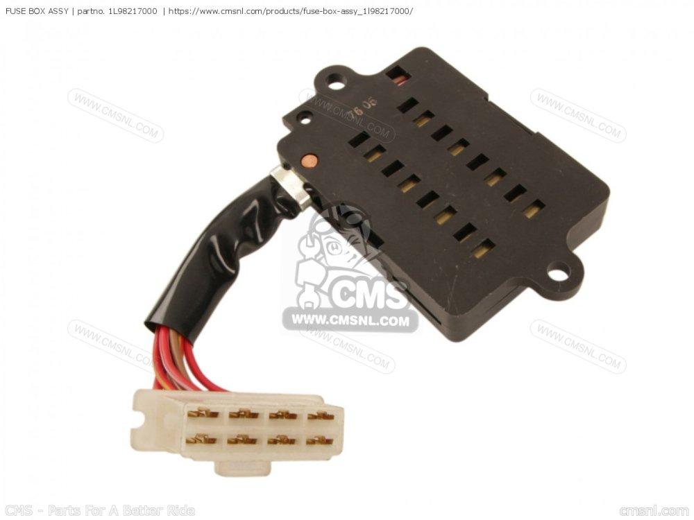 medium resolution of yamaha xs400 fuse box wiring diagram namefuse box assy for xs400 2 1978 usa order at